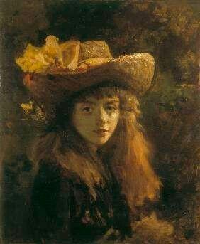 Ritratto di giovane donna Gustave Courbet
