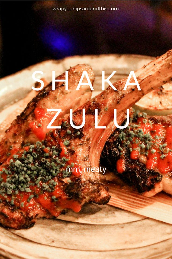 London Restaurant Review - An eccentric South African culinary experience at Shaka Zulu. Read more at wrapyourlipsaroundthis.com.