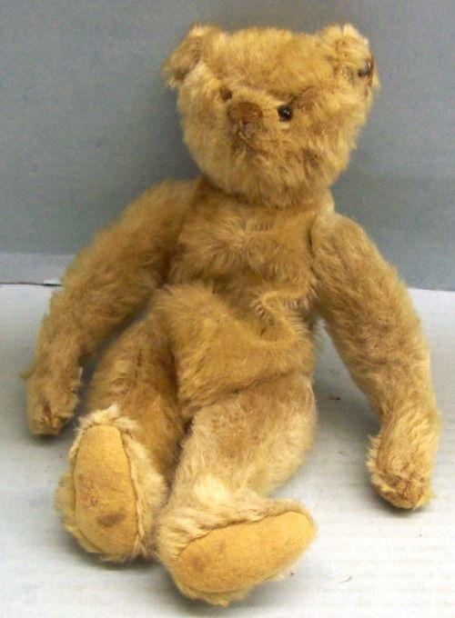 Steiff Teddy Bear, 1910, from the Collection of the Chemung Valley History Museum