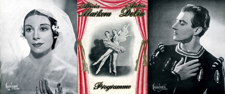 Markova & Dolan: The souvenir programme for the gala appearance of Alicia Markova and Anton Dolin at the Davis Theatre, Croydon, London on 21st March 1950.