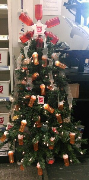 Pharmacy Christmas tree