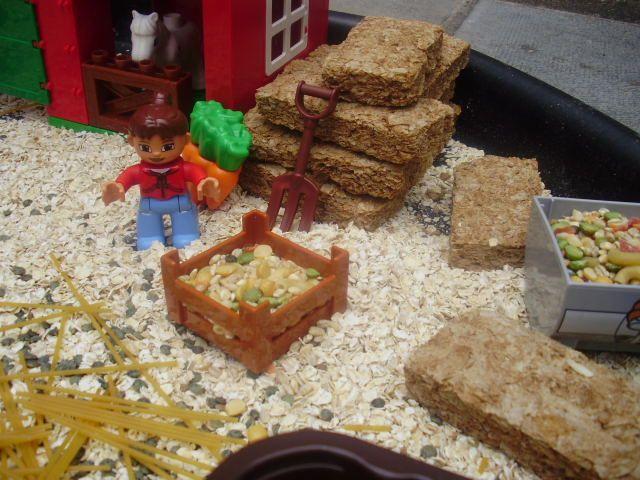 Weetabix Small World Farm Messy Play Animals Small