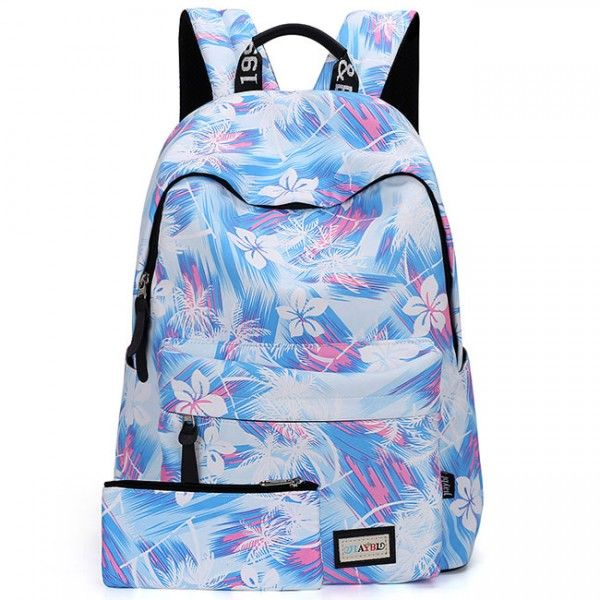 Cool! Casual Flower Canvas Rucksack Floral Abstract School Travel Bag Women Backpack just $38.99 from ByGoods.com! I can't wait to get it!