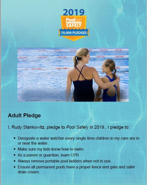 Prevent Drowning In Your Backyard Pool Childhood Drownings On The Rise On June Sixth Of This Year The Cons Swimming Pool Safety Backyard Pool Pool Safety