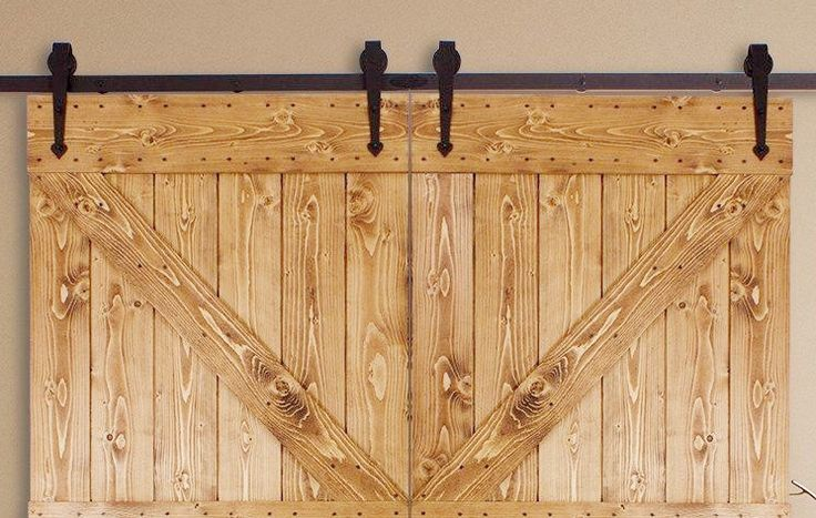 If you're in the market for a sliding barn door then you'll love this classic look for hardware. The arrow was used on barn doors for decades. Now it can be the hardware you use in your home for your