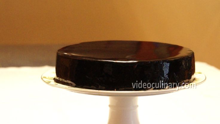 Chocolate mirror glaze recipe: http://videoculinary.com/recipes/main-courses/214-chocolate-mirror-glaze with text and photo instructions, in both American an...