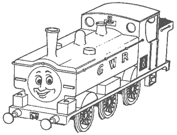 thomas the train coloring pages free cartoon - Thomas Friends Coloring Pages