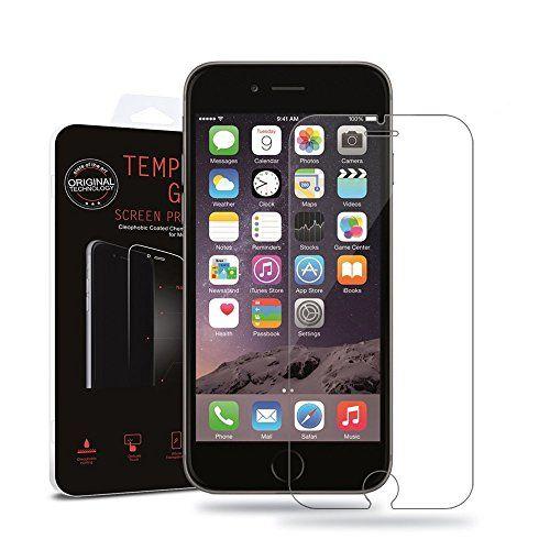 ✨ Net Solutions ✨ Film vitre de protection écran iPhone 6/6S ( 4,7 pouces) en verre trempé haute transparence et ultra résistant…