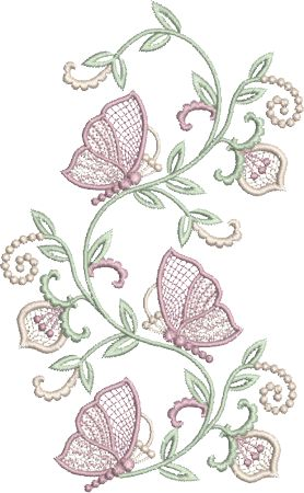 Sue Box Creations | Download Embroidery Designs | 01 - Butterfly 1