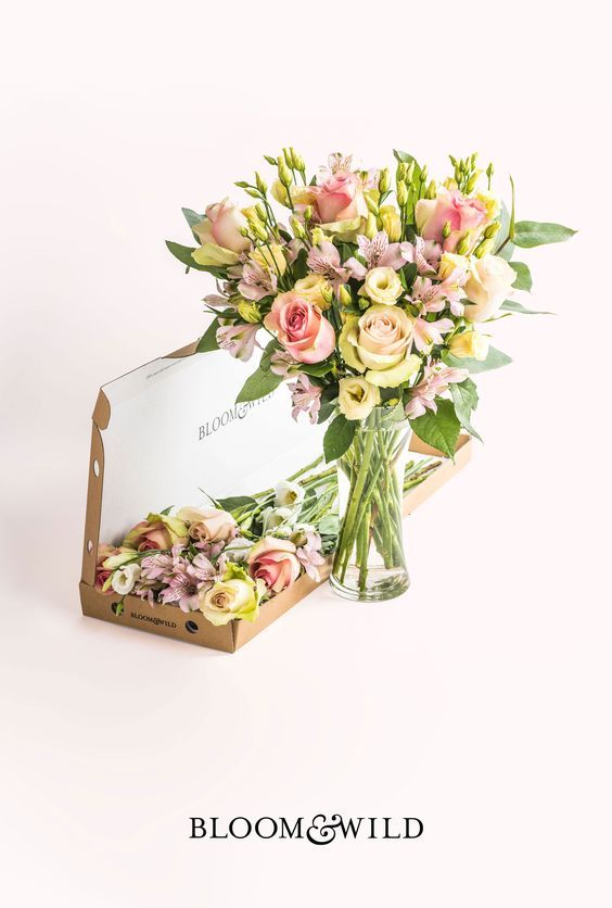 Fresh flowers delivered through the post and through the letterbox. Our bouquets start at £20 with free next day delivery across the UK.: