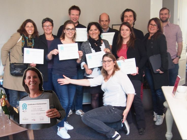 Congrats, 11 new certified participants UX-PM1 in April by Axance/France!