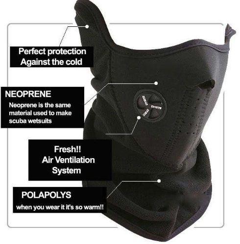 Neoprene Black Thermal Fleece Half Face Mask Facemask Snowboard Snowmobile Snow Ski Sled Luckystone http://www.amazon.com/dp/B00FK336QW/ref=cm_sw_r_pi_dp_rH-Xub1R52VX8