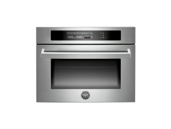 Bertazzoni 60cm combi-microwave oven from the Professional Series (model F45 PRO MOW X)  for sale at L & M Gold Star (2584 Gold Coast Highway, Mermaid Beach, QLD). Don't see the Bertazzoni product that you want on this board? No worries, we can order it in for you!