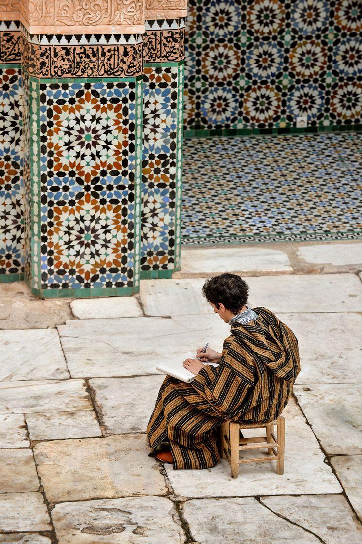 Ali Ben Youssef Madrasa . Marrakech