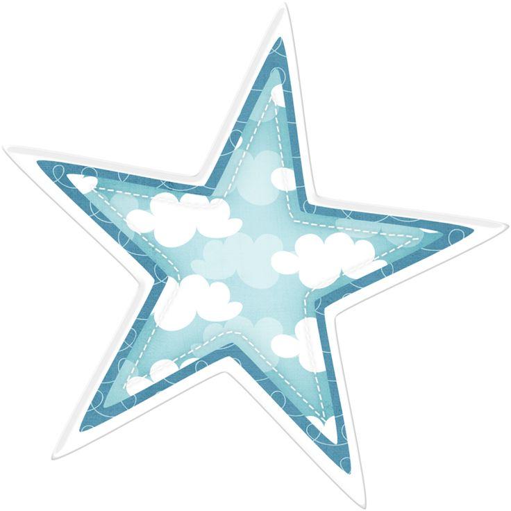 Teal Starfish Clipart