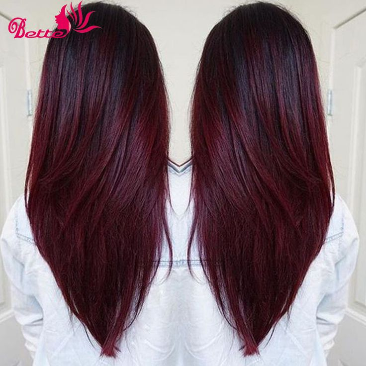 """Brazilian Ombre Human Extensions Two Tone Burgundy 7a Brazilian Virgin Hair Straight 3pcs/Lot T1B 99J Human Hair Weave Bundles,7A Brazilian Virgin Hair,100% 7A Unprocessed Virgin Hair Extension,T1b/99j# Red Burgundy Brazilian Hair Two Tone Brazilian Weave Hair,12""""-28"""", Mixed Length available,Ombre Brazilian Virgin Hair,Ombre Human Hair Wet And Wavy ,Human Hair Extensions 300g,Brazilian Hair Weave Bundles, Cheap Human Hair Extensions,Ombre Straight/Curly/Body Wave/Loose Wave/Afro/Kinky…"""