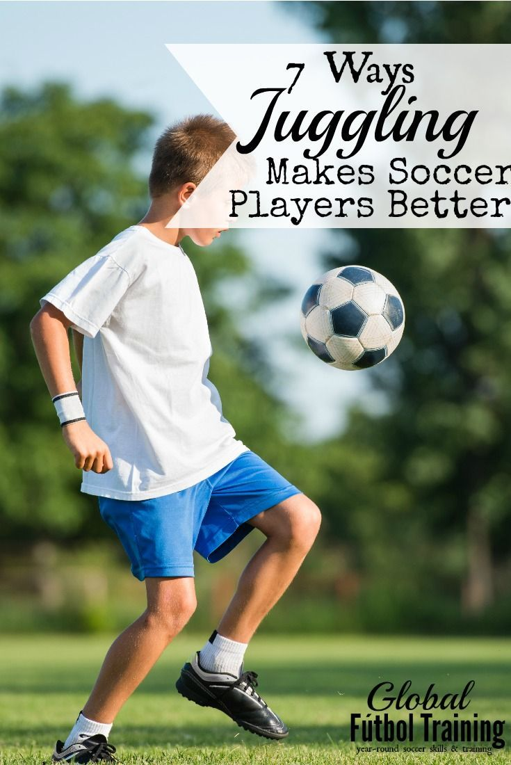 How does juggling make a soccer player better 1st touch