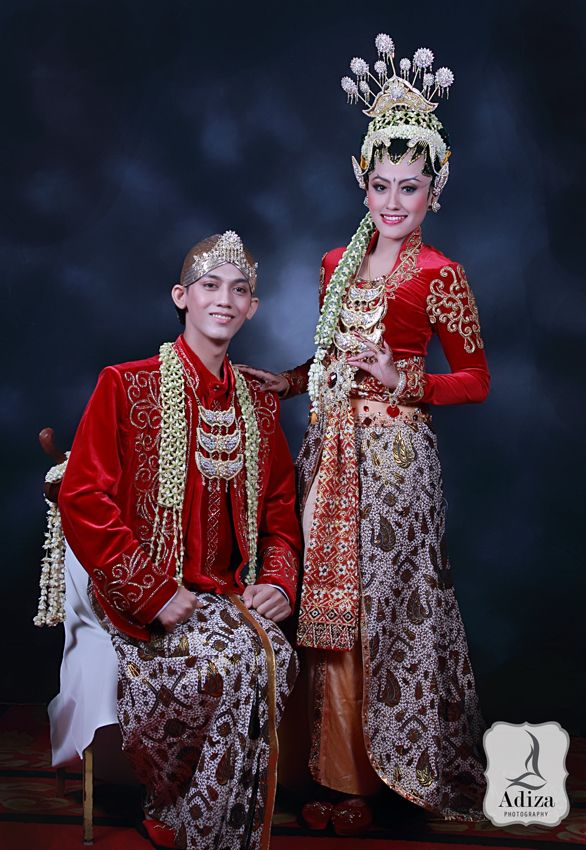 How Traditional Wedding Outfits Look Around The World (38 ... |Indonesian Traditional Wedding Clothing