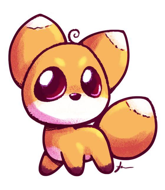 cute fox cute anime fox drawing desenhos pinterest