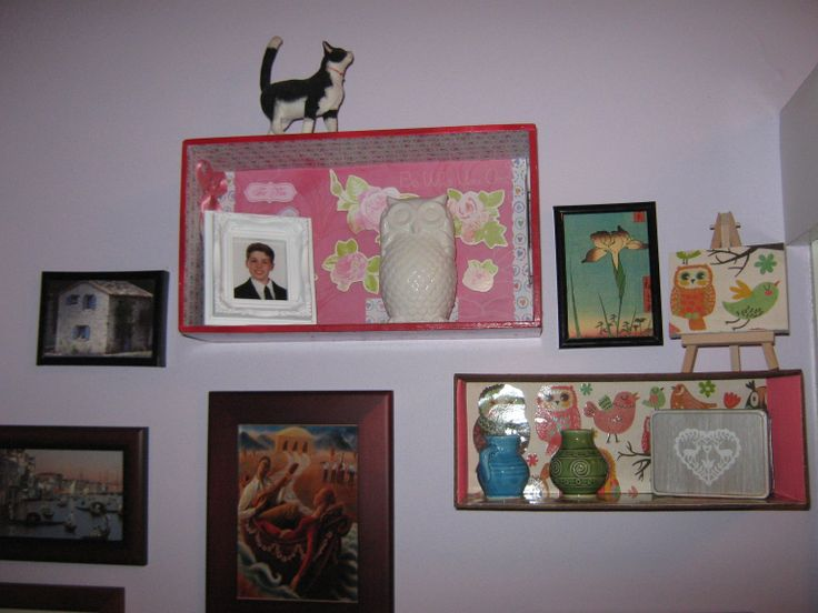 My Shadow box wall art