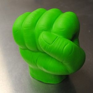 Hulk's Hand by Kamicakes--I can't imagine I will ever need to make this some day, but it is incredible!