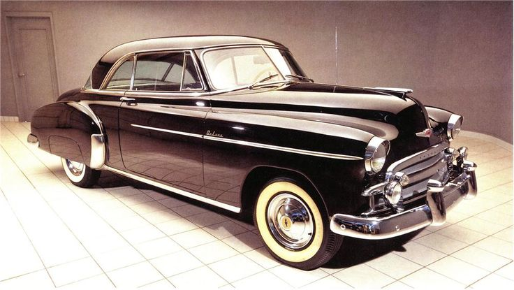 648 best ron images on pinterest vintage cars antique for 1950 chevy 2 door hardtop