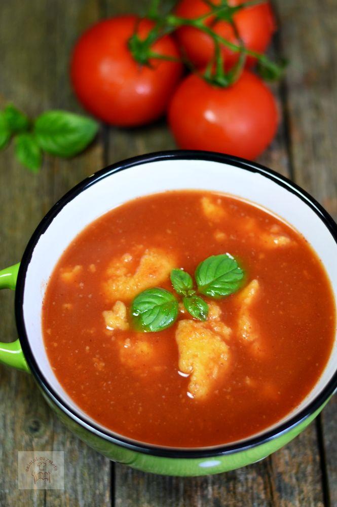 Supa de rosii cu galuste - CAIETUL CU RETETE