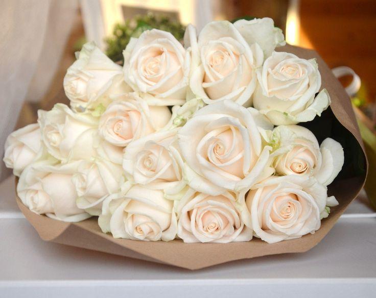 Белые букеты - сама нежность и очарование! Согласны?