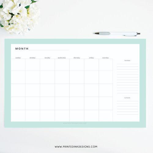 Blank Calendar Desk Pad : Unique desk pad calendar ideas on pinterest diy