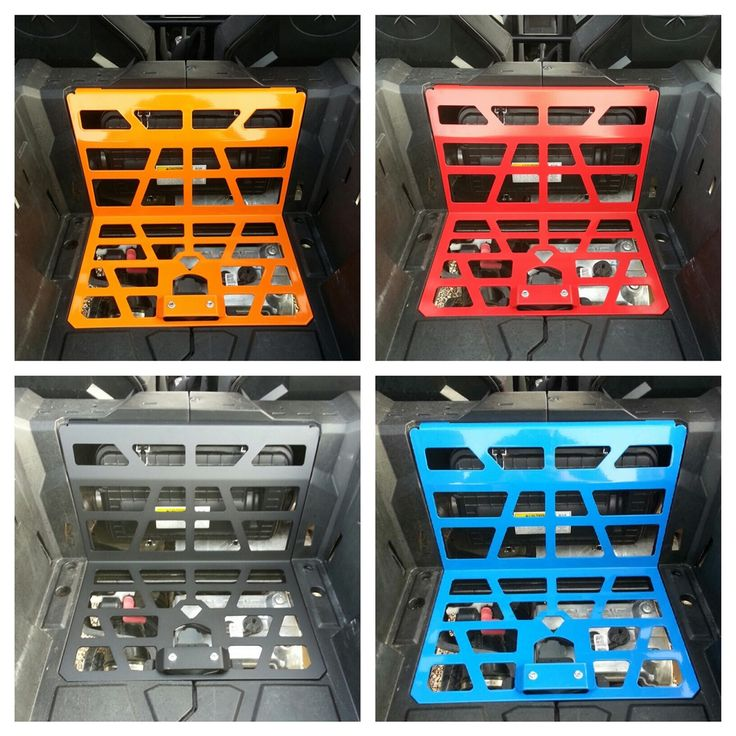 These rzr bed grills Let all that hot air out from under your bed to keep your rzr running cooler  cooler running rzr is a happy rzr