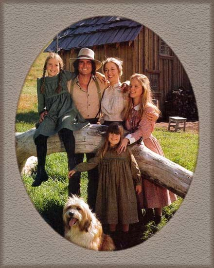 Little House on the Prairie, 1974. A good show in which every episode has a great message. Reminds me of a simpler time. :)