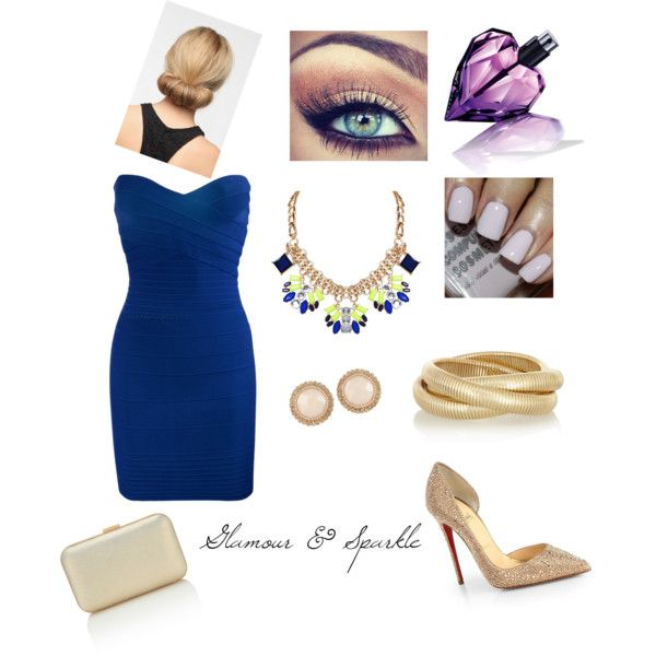 """""""Glamour & Sparkle"""" by louiseenorris on Polyvore"""