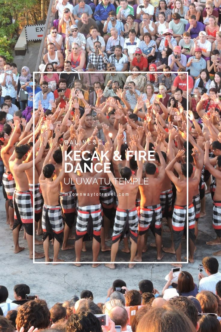 Balinese Kecak & Fire Dance at Uluwatu Temple - Uluwatu is one of the sacred and popular sea temples in South Bali, #Indonesia. Balinese Kecak and Fire dance at Uluwatu Temple is the unique cultural show to enjoy during sunset hour. #Kecakdance became one of the popular tourist attractions at #UluwatuTemple. You'll also love to see the beauty of Indian Ocean from this temple. #youtube #video #bali #culture #dance #travel