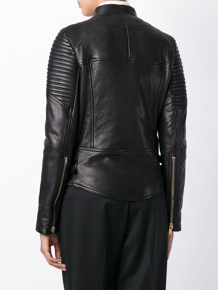 Givenchy Veste De Moto Classique - Stefania Mode - Farfetch.com