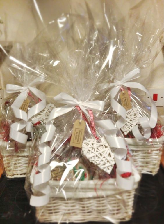 Christmas hampers finally done and ready to hand out #twitteradventdec25