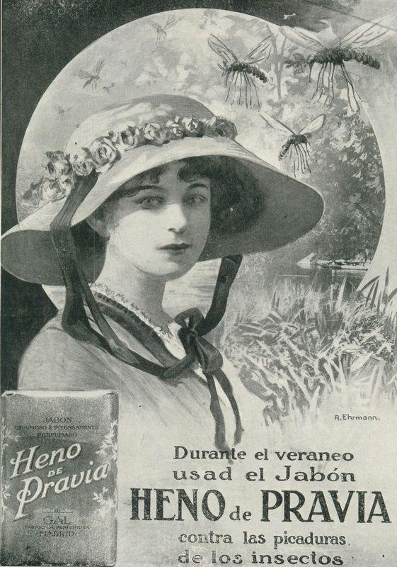 1899-1901. Publicidad del jabón Heno de  Pravia. Fabricado en el norte de España @@@@......http://www.pinterest.com/marajosmuoz/publicidad-antigua/