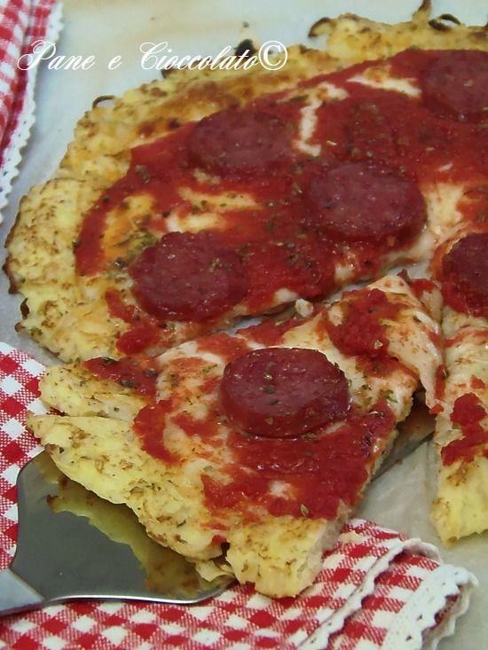 Pizza di Cavolfiore-Cauliflower Crust Pizza