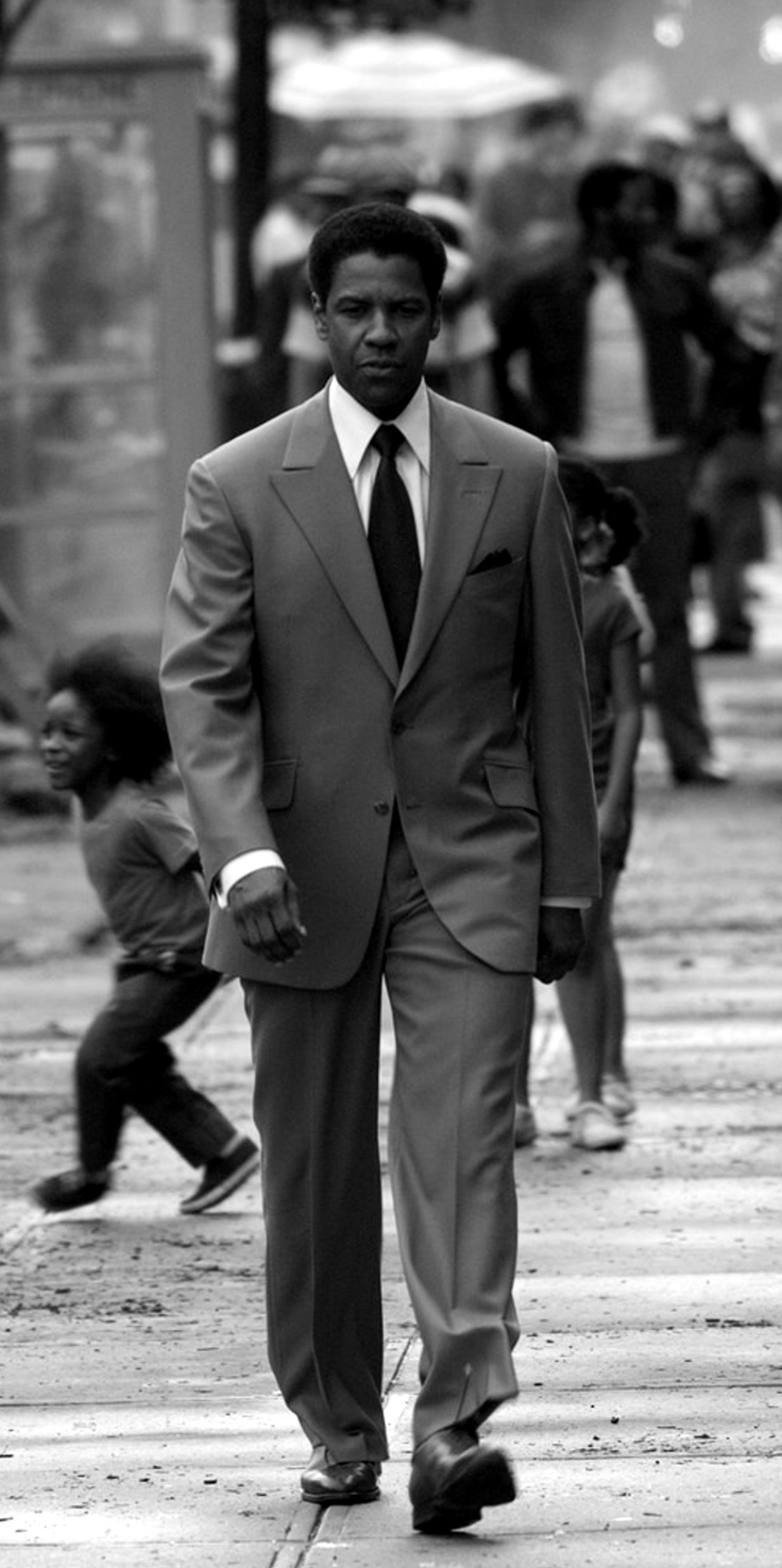 Pin 9 (#6) Perspectives on Women & Girls. Denzel Washington in American Gangster has a lack of involvement with a female. This is a lot like many other movies. In many of the movies there is a lack of his character and intimacy with females.