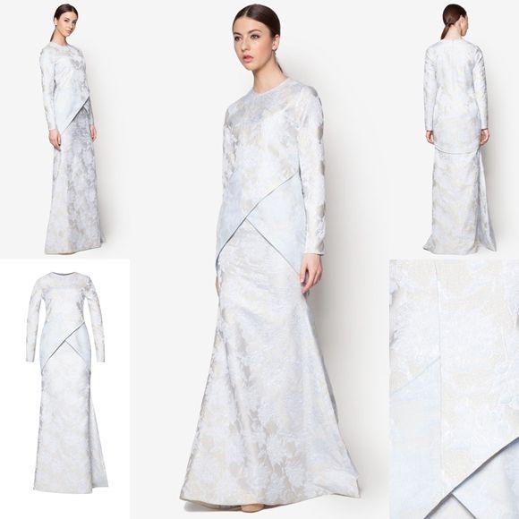 Fesyen Trend Terkini Bianco Mimosa Axiom Baju Kurung Moden