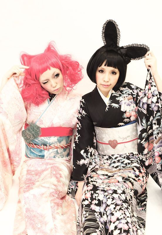 more rabbit ears with kimono