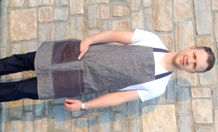 Men's birthday gift, Men's natural linen apron, Gardening/grilling  Apron, Light weight industrial  apron,4th of july grilling apron. by DayluDesigns on Etsy https://www.etsy.com/listing/236633233/mens-birthday-gift-mens-natural-linen