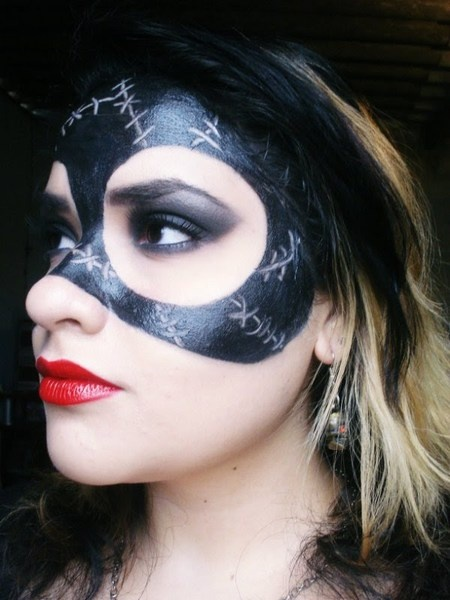 Cat-Woman (Batman Returns-Michelle Pfeiffer) Makeup
