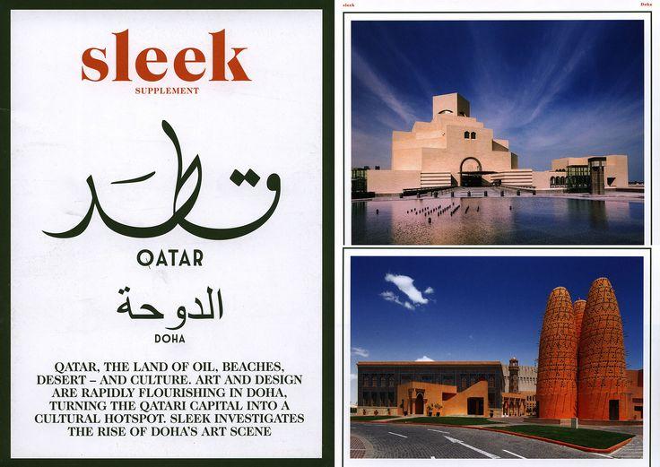 https://flic.kr/p/FCEUeR | sleek supplement Qatar, Doha; 2014 | tourism travel brochure | by worldtravellib World Travel library