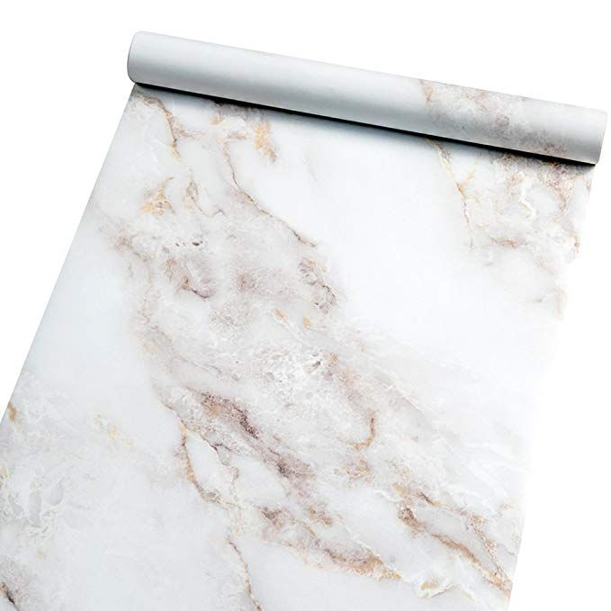Marble Contact Paper Film Peel And Stick Countertops Vinyl