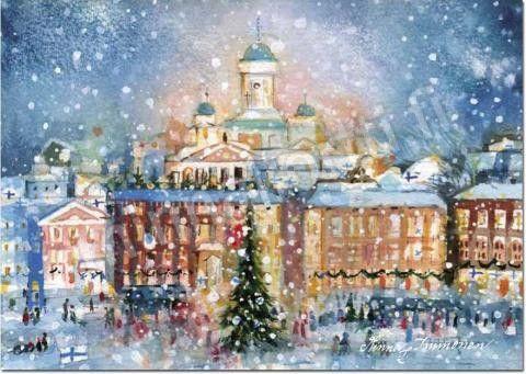 """Minna Immonen, Finland, """"Joulukaupunki"""" / """"Christmas Town"""""""