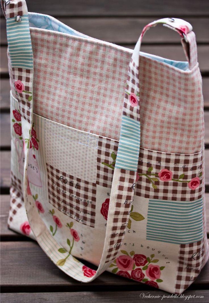 Вечерние посиделки: Розовые сумки / Rose bags