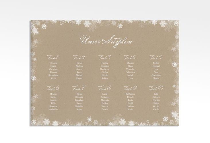 Sitzplan Leinwand Hochzeit Snowfall 70 X 50 Cm Leinwand Leinwand Hochzeit Gastebuch Hochzeit Karte Hochzeit