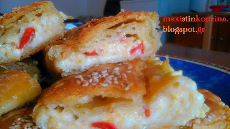 Μάχη στην κουζίνα: Κασερόπιτα Με Μανιτάρια Και Πιπεριά Φλωρίνης, Σε Ρ...