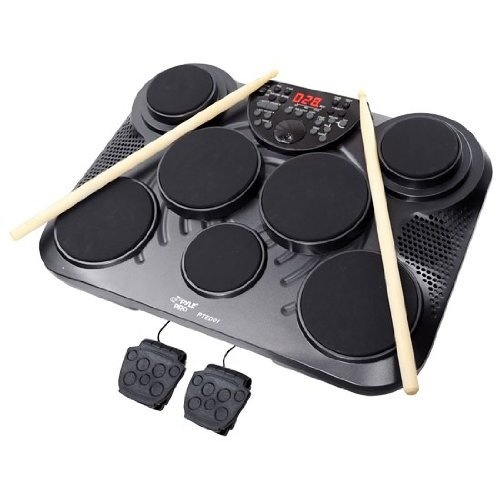 Pyle-Pro PTED01 Electronic Table Digital Drum Kit Top w/ 7 Pad Digital Drum KitMusic Instruments, Pyle Pro Pted01, Tables Digital, Electronics Tables, Drum Kits, Digital Drums, Pted01 Electronics, Drums Kits, Kits Tops