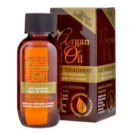 Argan Oil hair treatment with moroccan argan oil extract! Intensive hydrating treatment repairs and rejuvinates leaving hair shiny, smooth and healthy. Easy to use, just apply 2 to 3 drops into towel dry hair and distribute evenly with your hands. Leave the oil in and style as normal.